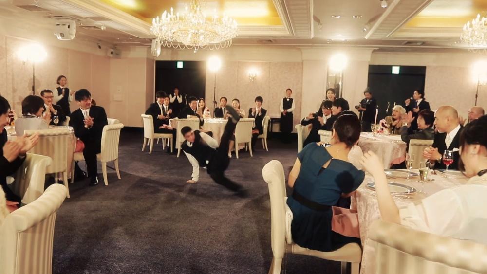 結婚式余興フラッシュモブ